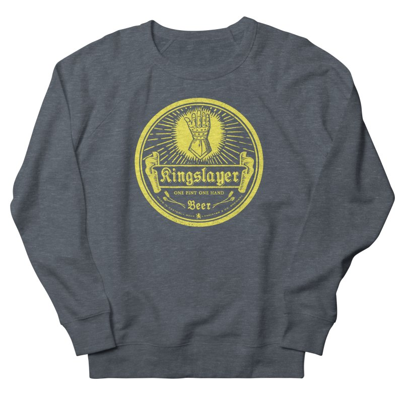 One Hand One Pint Women's French Terry Sweatshirt by Victor Calahan