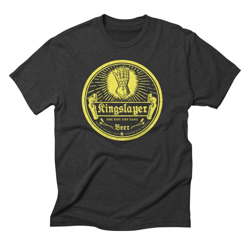 One Hand One Pint Men's Triblend T-Shirt by Victor Calahan