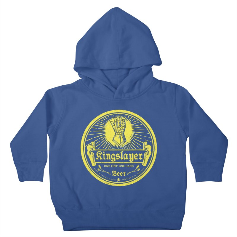 One Hand One Pint Kids Toddler Pullover Hoody by Victor Calahan
