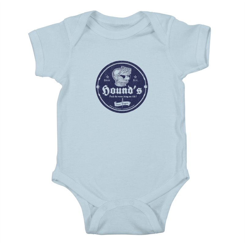 F…ck the Water Kids Baby Bodysuit by Victor Calahan