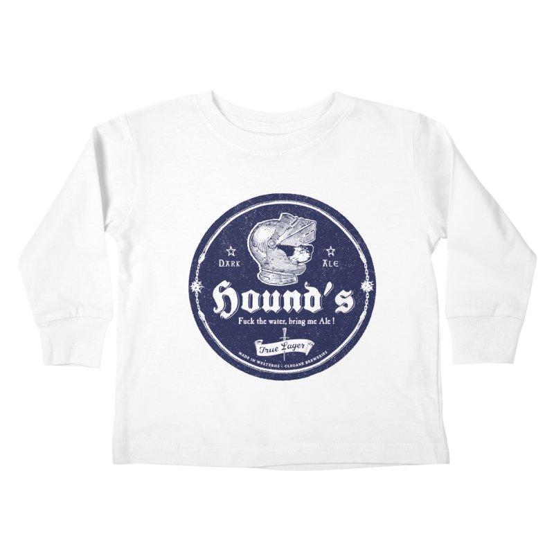F…ck the Water Kids Toddler Longsleeve T-Shirt by Victor Calahan
