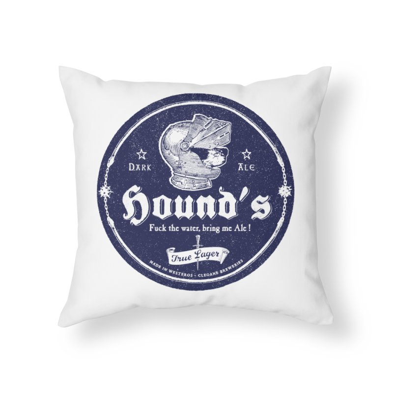 F…ck the Water Home Throw Pillow by Victor Calahan