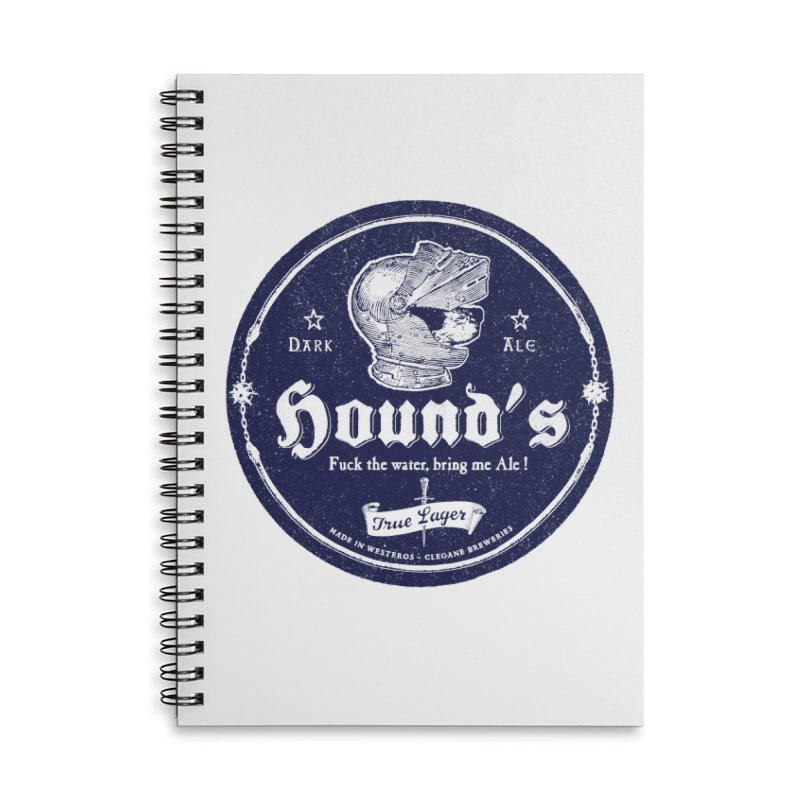 F…ck the Water Accessories Lined Spiral Notebook by Victor Calahan