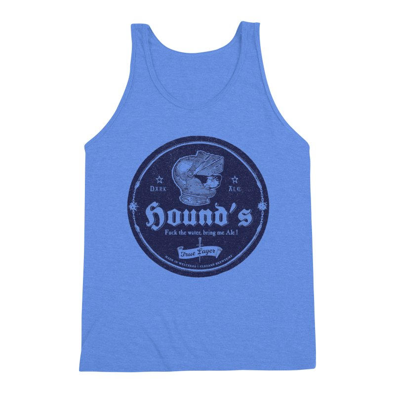 F…ck the Water Men's Triblend Tank by Victor Calahan