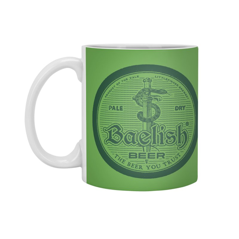 The Beer you Trust Accessories Standard Mug by Victor Calahan