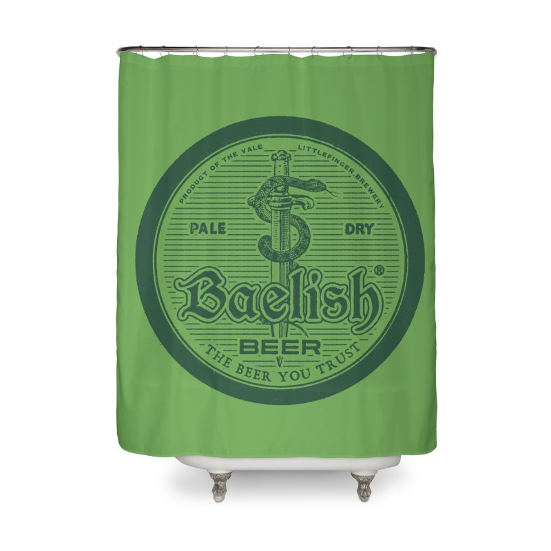The Beer you Trust Home Shower Curtain by Victor Calahan