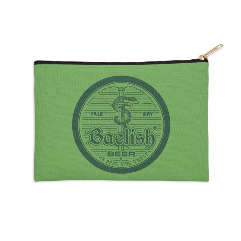 The Beer you Trust Accessories Zip Pouch by Victor Calahan