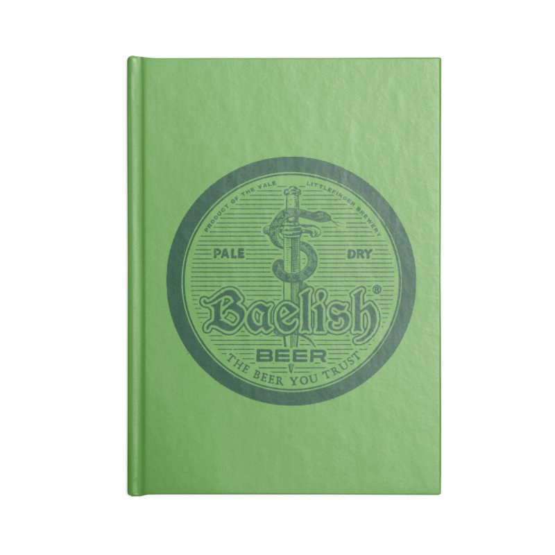The Beer you Trust Accessories Blank Journal Notebook by Victor Calahan