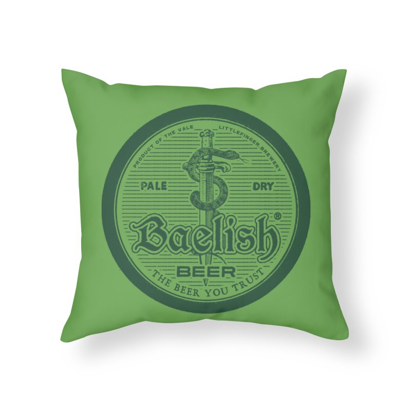 The Beer you Trust Home Throw Pillow by Victor Calahan