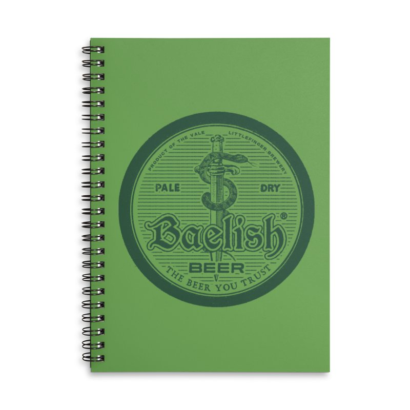 The Beer you Trust Accessories Lined Spiral Notebook by Victor Calahan