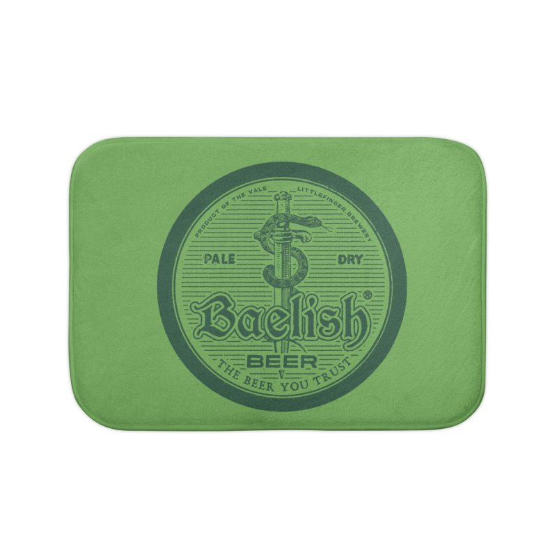 The Beer you Trust Home Bath Mat by Victor Calahan