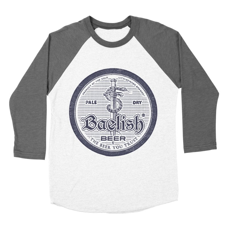The Beer you Trust Men's Baseball Triblend T-Shirt by Victor Calahan