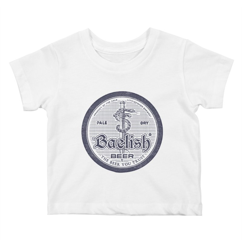The Beer you Trust Kids Baby T-Shirt by Victor Calahan