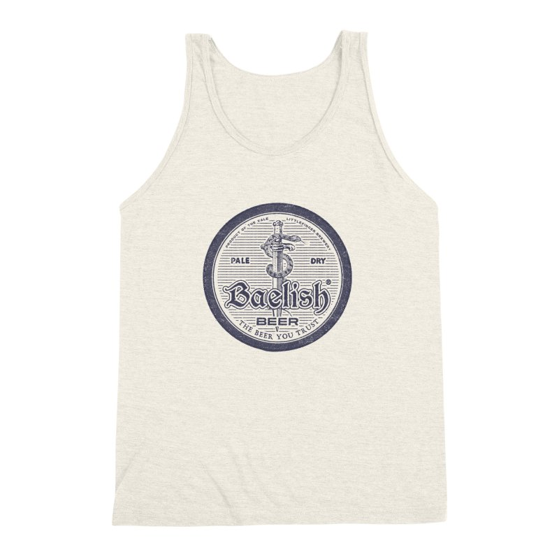 The Beer you Trust Men's Triblend Tank by Victor Calahan
