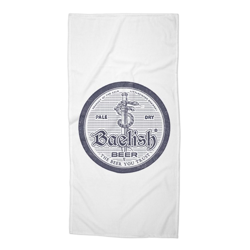 The Beer you Trust Accessories Beach Towel by Victor Calahan