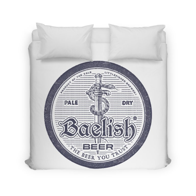 The Beer you Trust Home Duvet by Victor Calahan