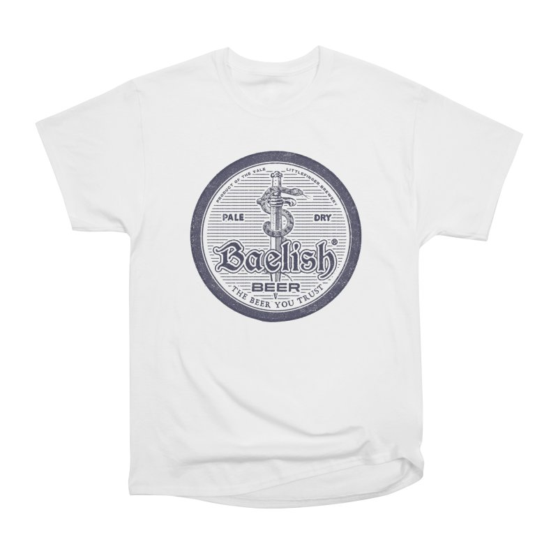 The Beer you Trust in Men's Classic T-Shirt White by Victor Calahan