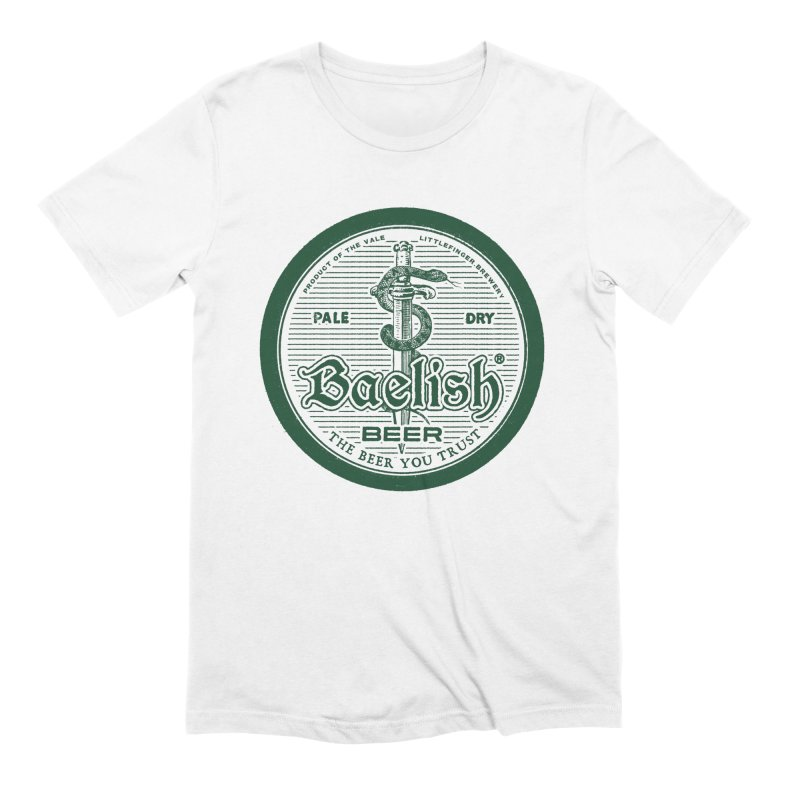 The Beer you Trust Men's Extra Soft T-Shirt by Victor Calahan