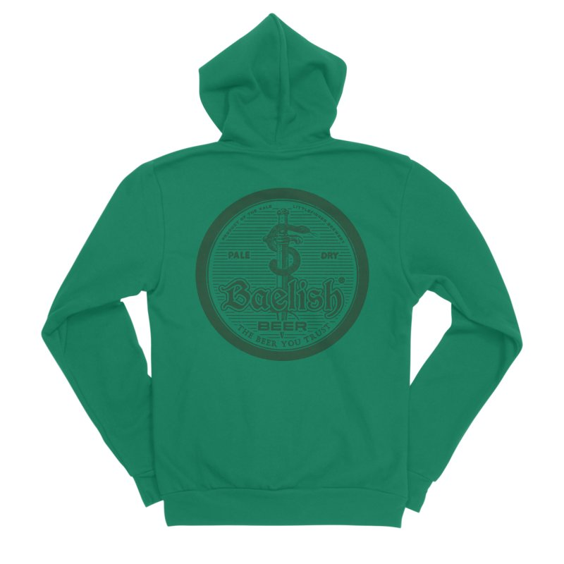 The Beer you Trust Men's Sponge Fleece Zip-Up Hoody by Victor Calahan
