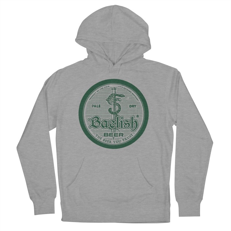 The Beer you Trust Men's French Terry Pullover Hoody by Victor Calahan