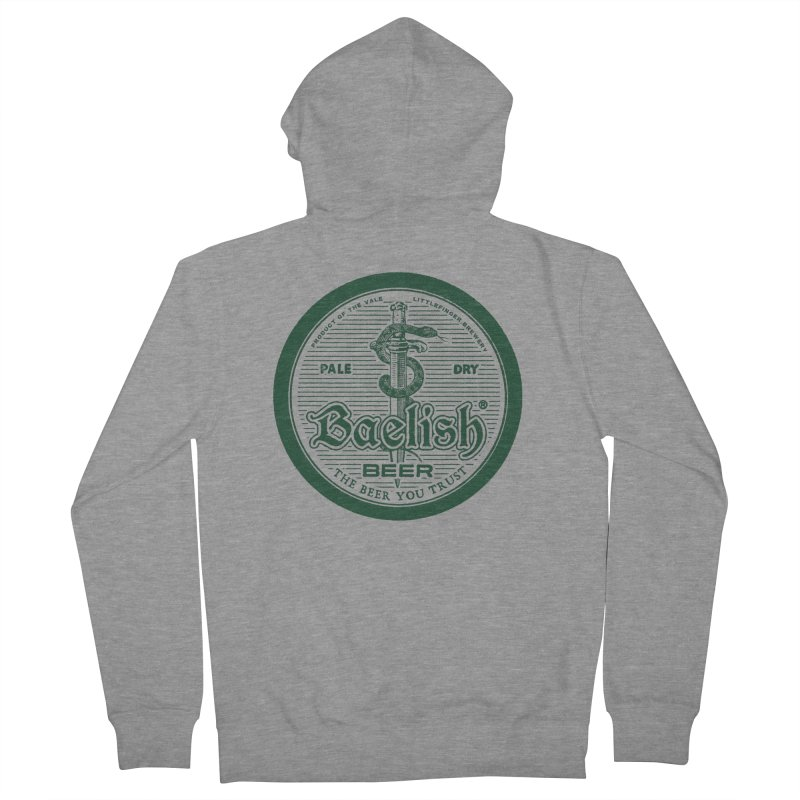 The Beer you Trust Women's French Terry Zip-Up Hoody by Victor Calahan