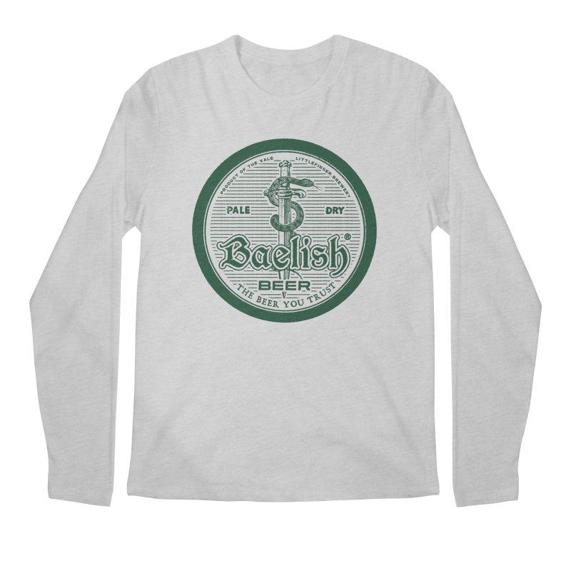 The Beer you Trust Men's Regular Longsleeve T-Shirt by Victor Calahan
