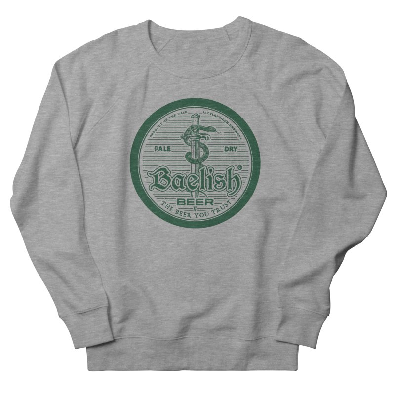 The Beer you Trust Men's French Terry Sweatshirt by Victor Calahan