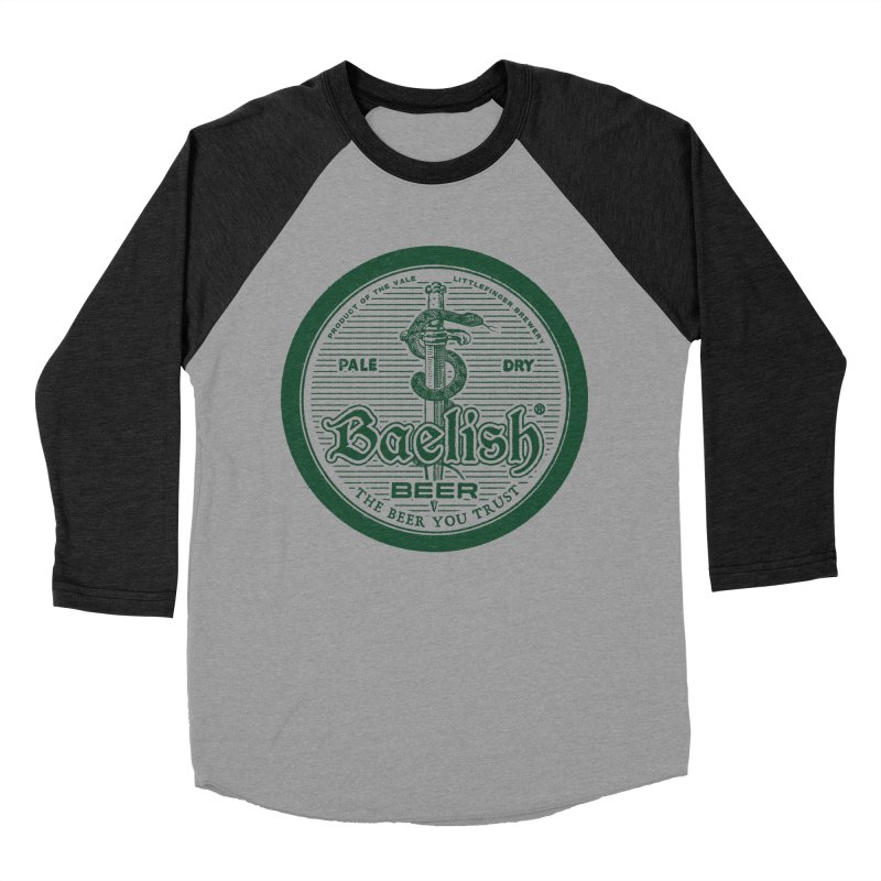 The Beer you Trust Men's Baseball Triblend Longsleeve T-Shirt by Victor Calahan