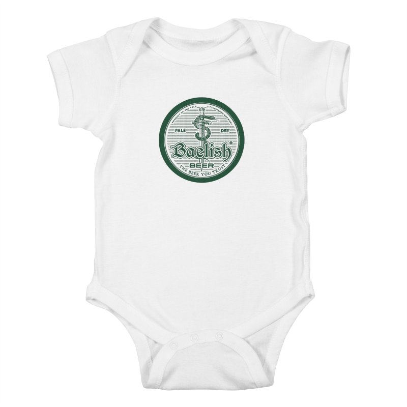 The Beer you Trust Kids Baby Bodysuit by Victor Calahan