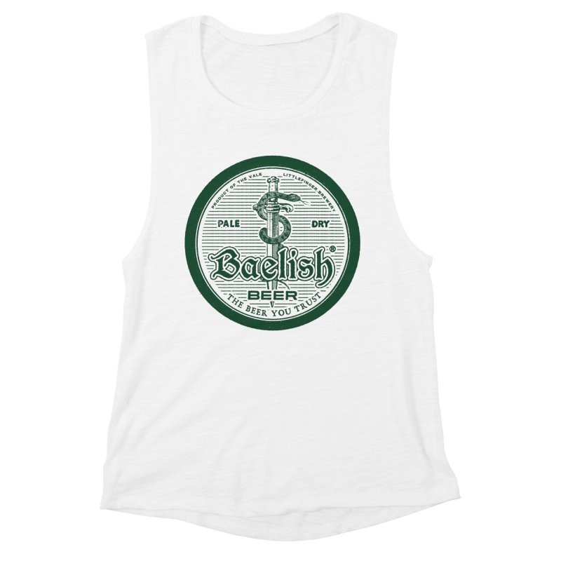 The Beer you Trust Women's Muscle Tank by Victor Calahan