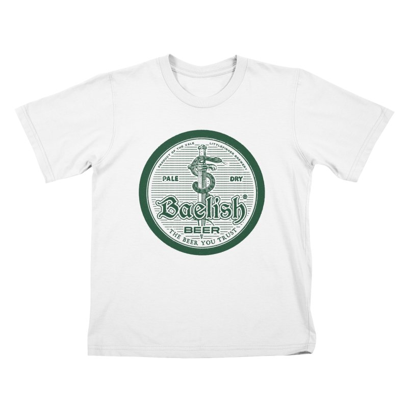 The Beer you Trust Kids T-Shirt by Victor Calahan