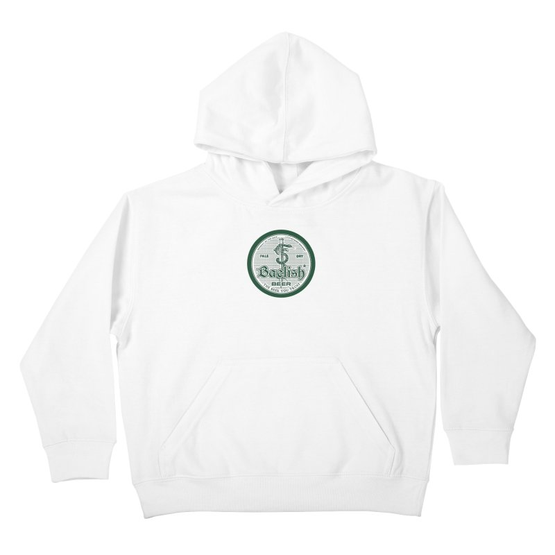 The Beer you Trust Kids Pullover Hoody by Victor Calahan