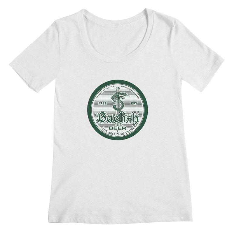 The Beer you Trust Women's Regular Scoop Neck by Victor Calahan