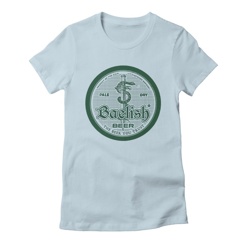 The Beer you Trust Women's Fitted T-Shirt by Victor Calahan