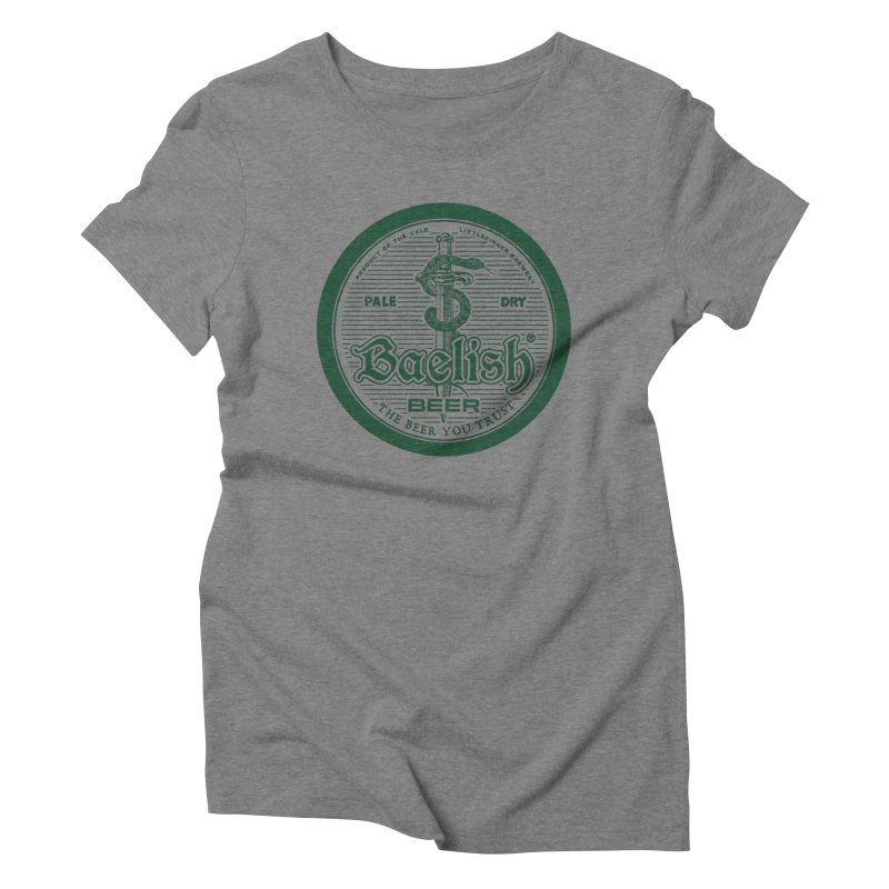 The Beer you Trust Women's Triblend T-Shirt by Victor Calahan