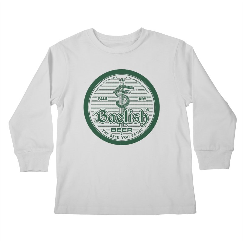 The Beer you Trust Kids Longsleeve T-Shirt by Victor Calahan