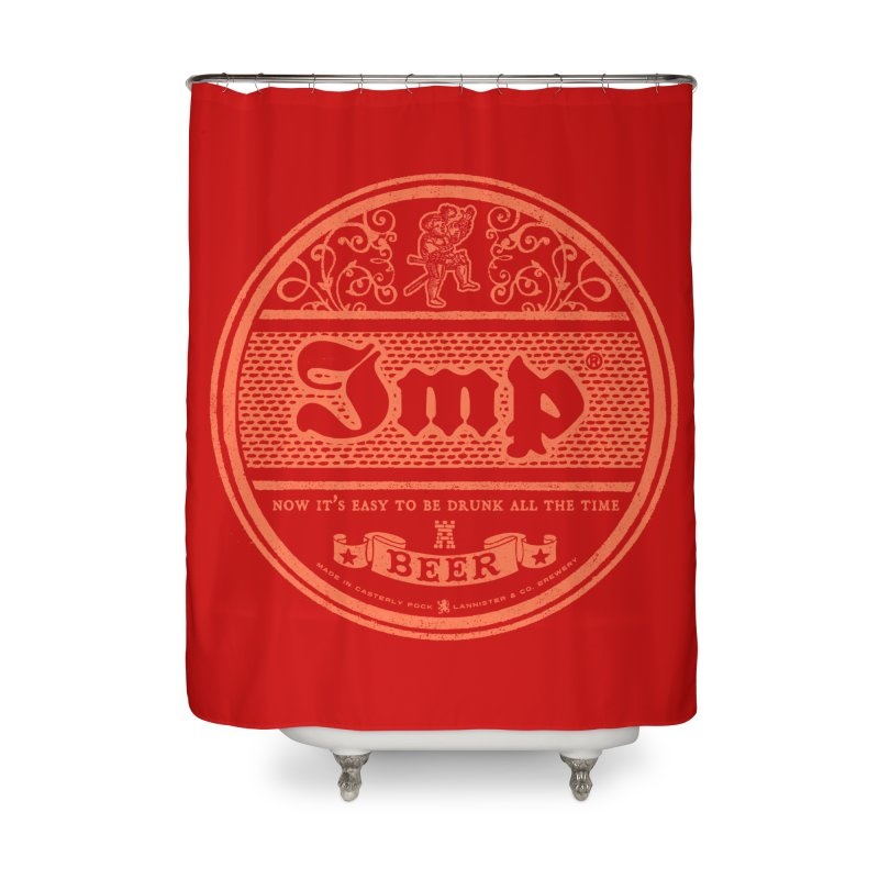 Easy to be drunk Home Shower Curtain by Victor Calahan