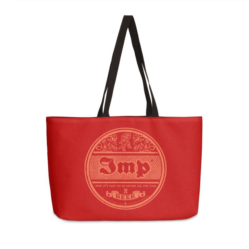 Easy to be drunk Accessories Weekender Bag Bag by Victor Calahan