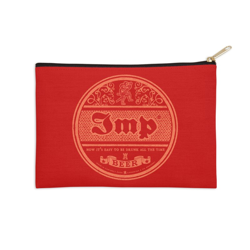 Easy to be drunk Accessories Zip Pouch by Victor Calahan