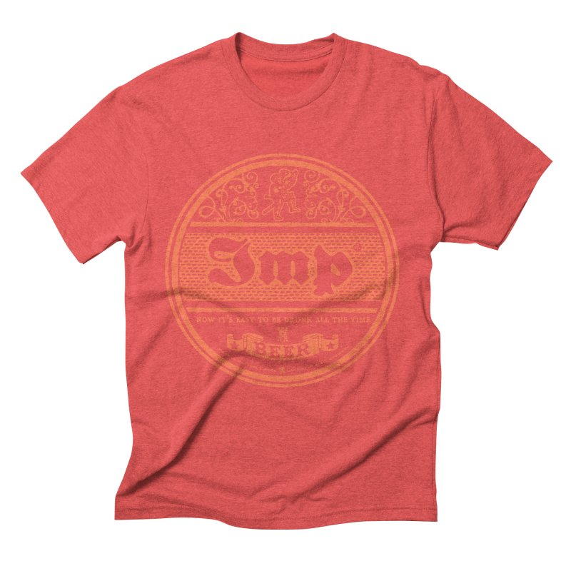Easy to be drunk Men's Triblend T-shirt by Victor Calahan