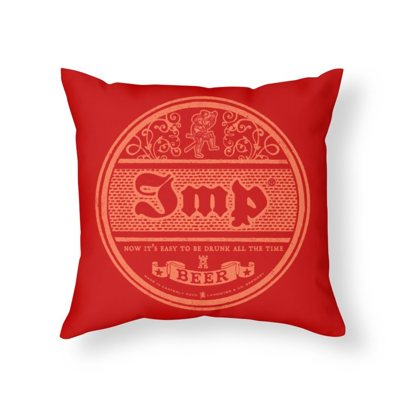 Easy to be drunk Home Throw Pillow by Victor Calahan