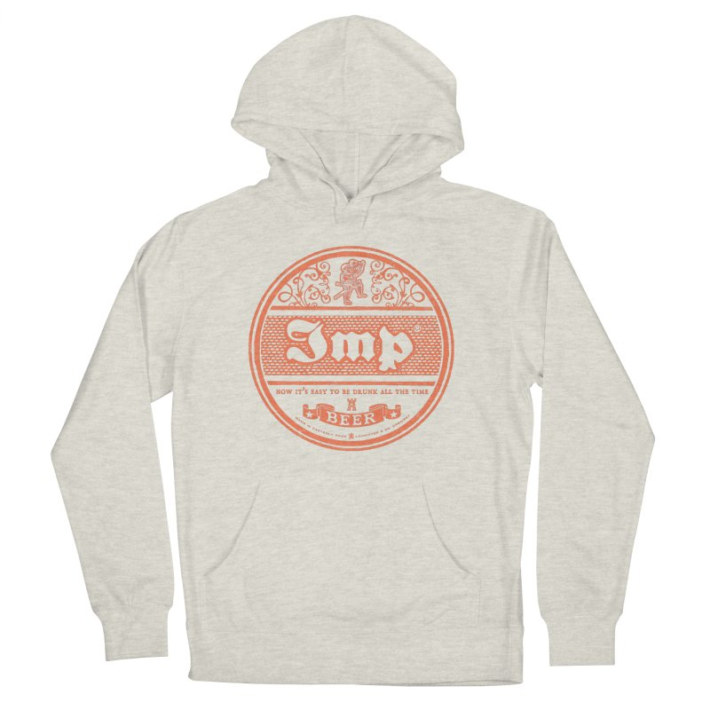 Easy to be drunk Men's French Terry Pullover Hoody by Victor Calahan