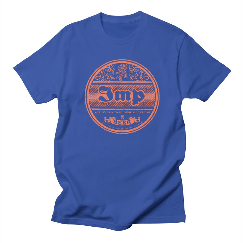 Easy to be drunk Men's Regular T-Shirt by Victor Calahan