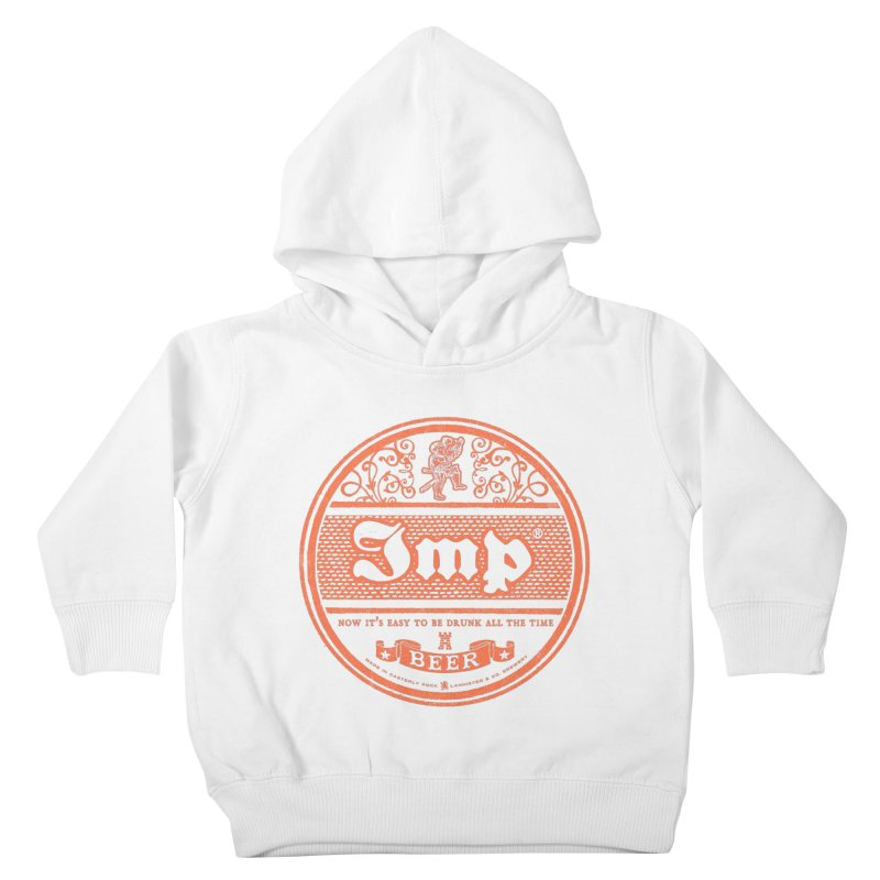 Easy to be drunk Kids Toddler Pullover Hoody by Victor Calahan