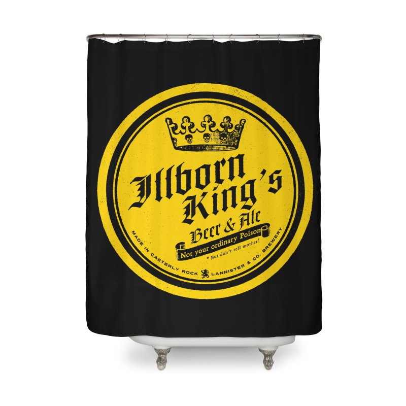 Not your ordinary Poison Home Shower Curtain by Victor Calahan
