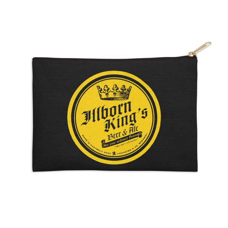 Not your ordinary Poison Accessories Zip Pouch by Victor Calahan