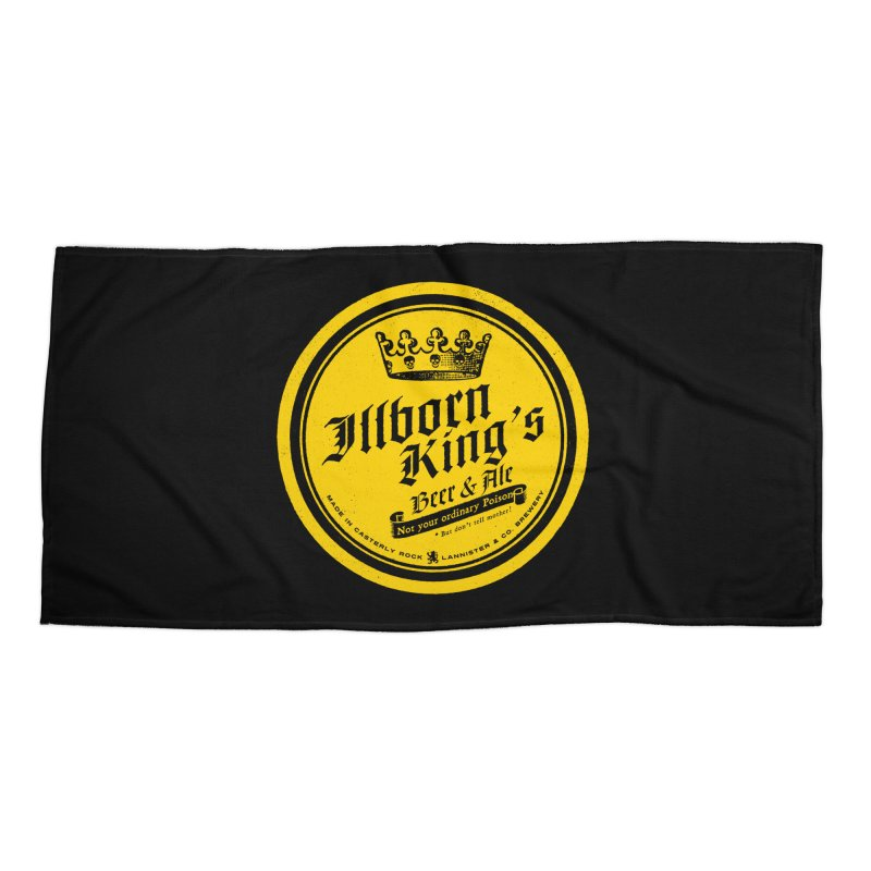 Not your ordinary Poison Accessories Beach Towel by Victor Calahan