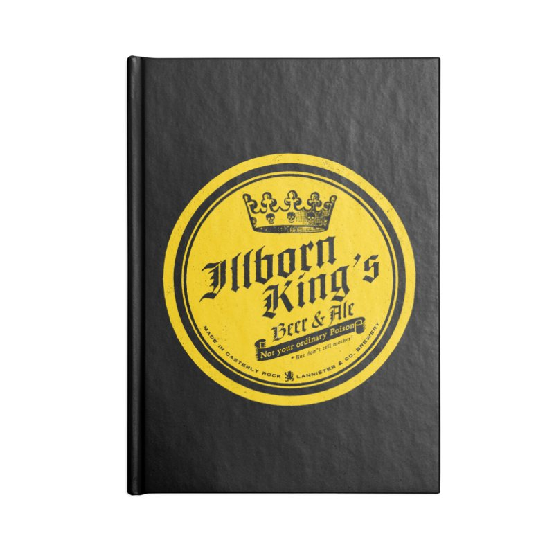 Not your ordinary Poison Accessories Lined Journal Notebook by Victor Calahan