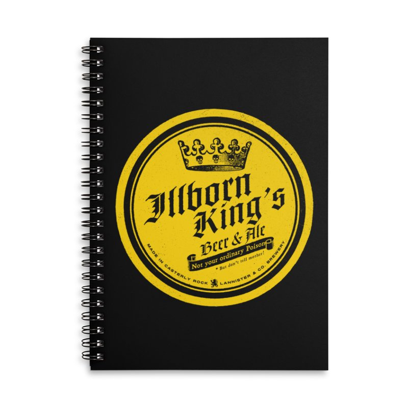 Not your ordinary Poison Accessories Lined Spiral Notebook by Victor Calahan