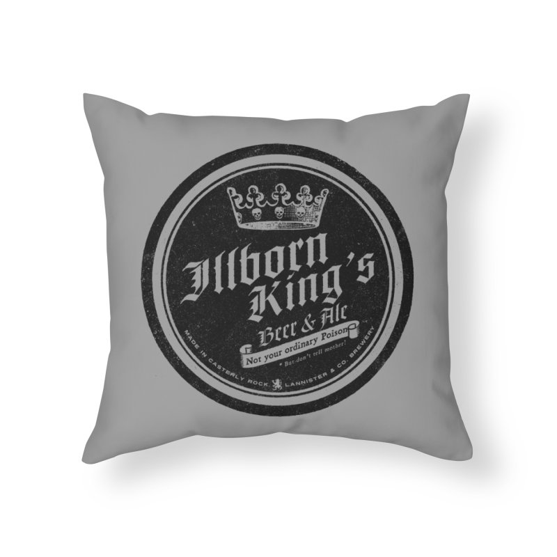 Not your ordinary Poison Home Throw Pillow by Victor Calahan